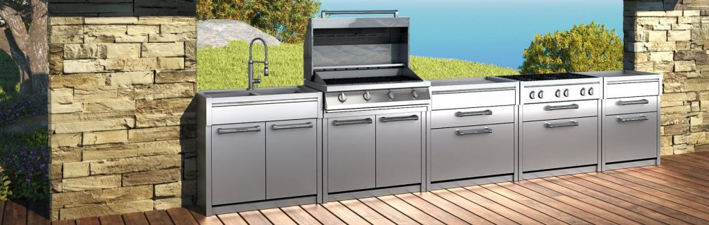 steel cucine outdoor modular
