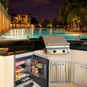 OKes 1750 Outdoor Fridge