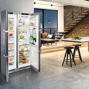 SBSes 8663 Premium BioFresh NoFrost Side-by-Side Combination